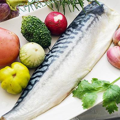 挪威薄鹽鯖魚(160g±10%/包)