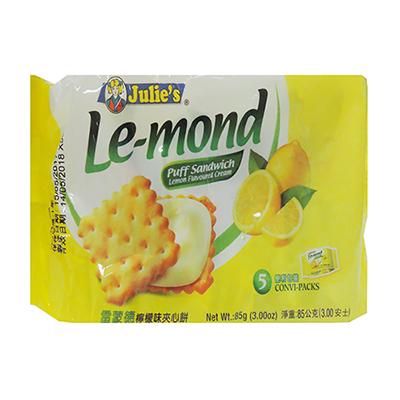 雷蒙德檸檬味夾心餅(85g/包)