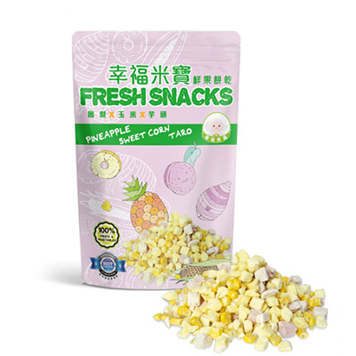 鮮果餅乾(鳳梨)全素(30g/包)