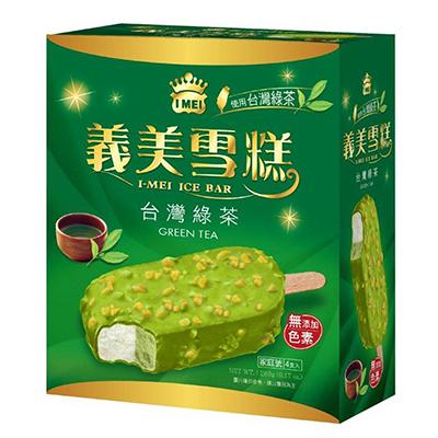義美台灣綠茶雪糕(65g*4入/盒)