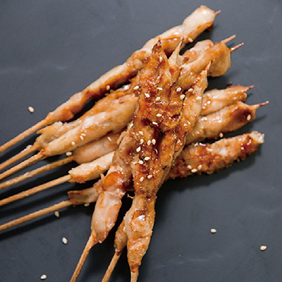 手作雞肉串5串(80g±10%/包)