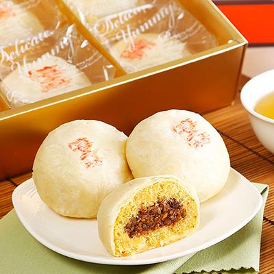 喜之坊綠豆椪6入月餅禮盒(2盒)