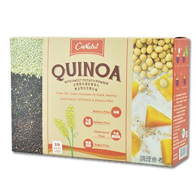 安地斯山纖彩藜麥片-黃金地瓜豆漿口味