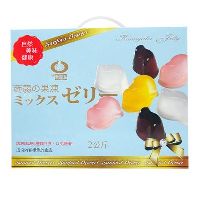 鮮Q綜合蒟蒻果凍-家庭號(2kg±5%/盒)