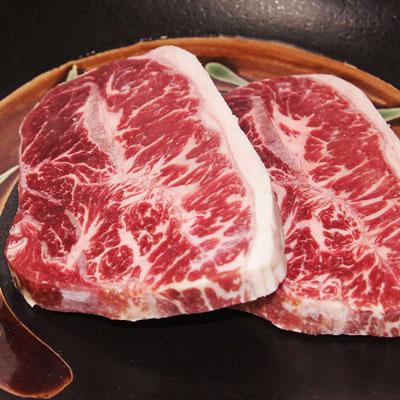 美國藍絲帶霜降牛排6盎司(170g±10%/片)