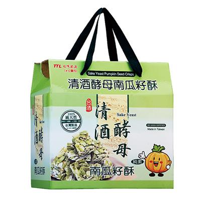 清酒酵母南瓜籽酥(100g*6入/箱)