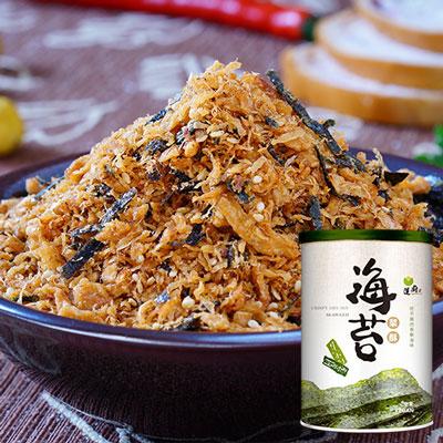 海苔菜酥(精裝)(250g/罐)