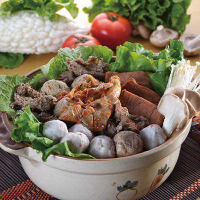 酸辣泡菜鍋(蛋素)(800g/包)