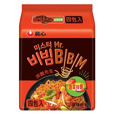 泡菜拌麵(118g*4入/袋)