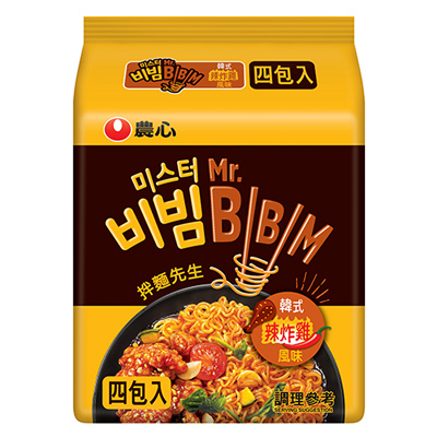 韓式炸雞風味拌麵(126g*4入/袋)