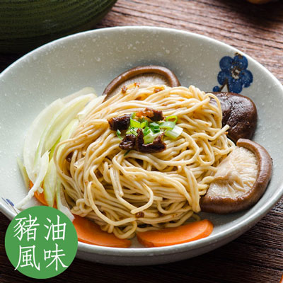 乾拌麵系列-油蔥香菇-豬油風味(98g*4入/袋)