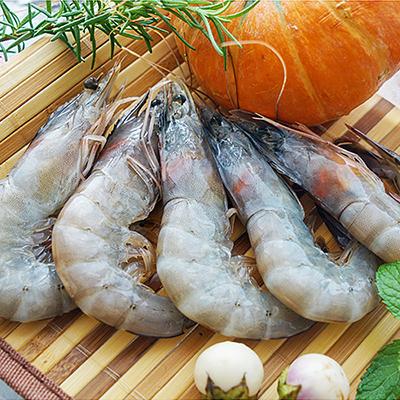 台灣鮮甜生白蝦(240g±10%/盒)