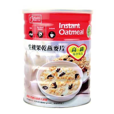 生機果乾燕麥片-全素(640g/罐)