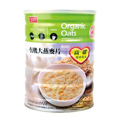 有机大燕麦片-全素(600g/罐)