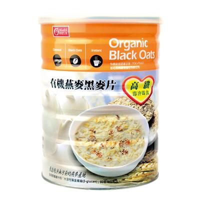 有机燕麦黑麦片-全素(600g/罐)