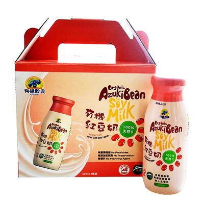 有機紅豆奶(200ml*6瓶/盒)