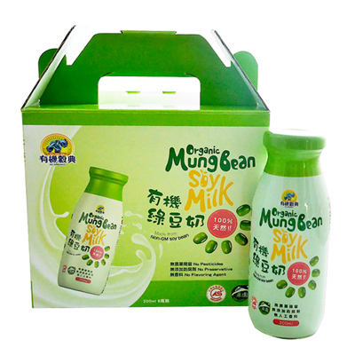 有機綠豆奶(200ml*6瓶/盒)