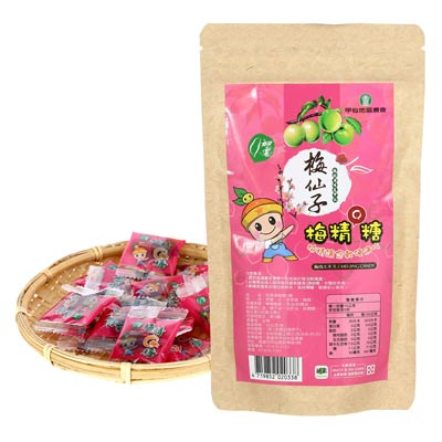 梅仙子-梅精Q糖(50g/包)