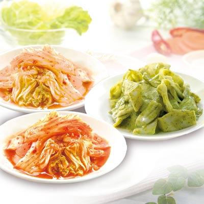經典果.爽.綠.泡菜3盒組(葷食)