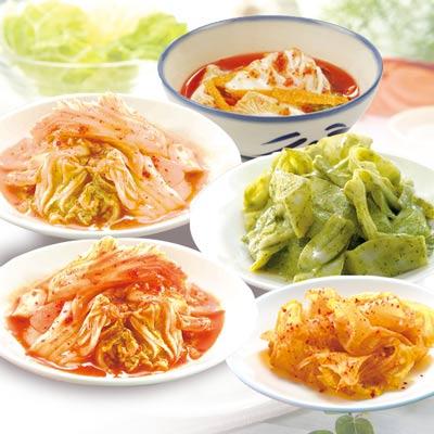 經濟果.爽.綠.花.泡菜5盒組(3葷食+2全素)