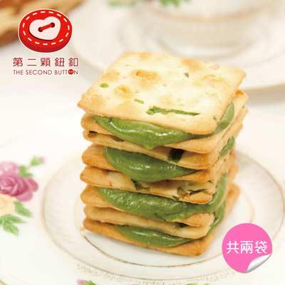 抹茶蔥軋餅(16g*10包/袋,共兩袋)