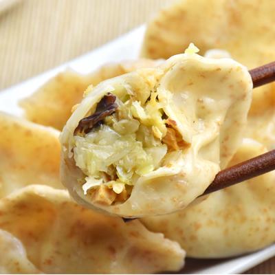 雜糧高麗菜純手工水餃15顆-全素食(375g/包)