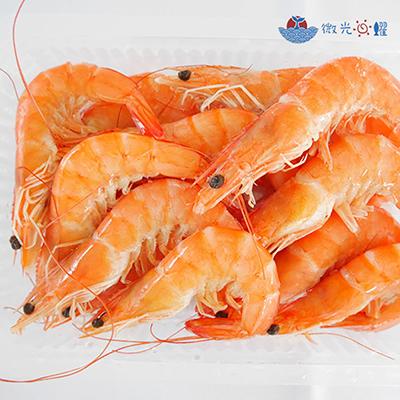 嚴選原味熟白蝦(1kg±5%/盒)