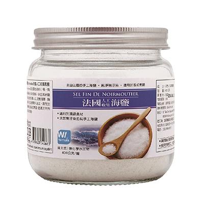 法國手工細海鹽(400g/罐)