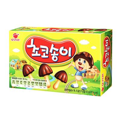 香菇巧克力(50g/盒)