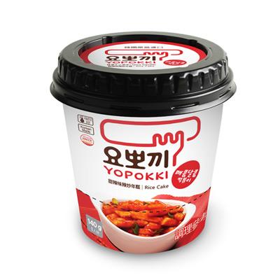 甜辣味辣炒年糕-杯裝(含調味包)(140g/杯)