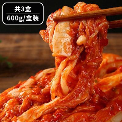 歐巴純手工韓式泡菜3盒