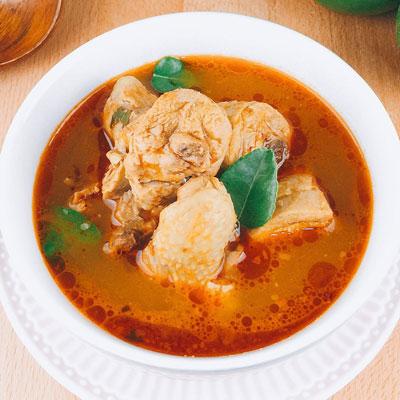 南洋咖哩雞湯(1000g/碗)