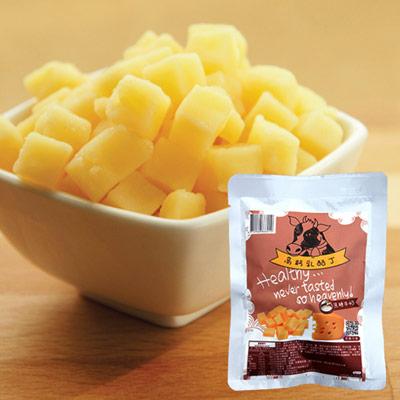 高鈣乳酪丁-焦糖牛奶(60g±5%/袋)