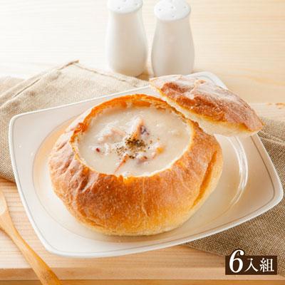 【分享烘焙】法式人氣麵包盅6入組
