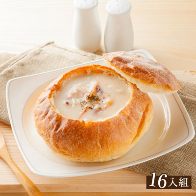 【分享烘焙】法式人氣麵包盅16入組