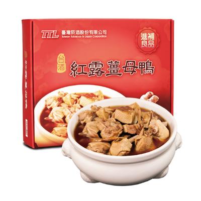 紅露薑母鴨禮盒(1750g*2袋/盒)