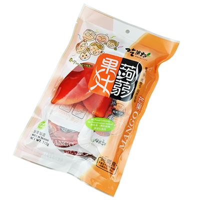 芒果果汁蒟蒻果冻