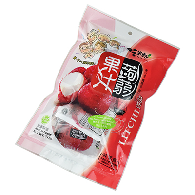 荔枝果汁蒟蒻果凍