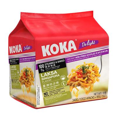 非油炸星洲叻沙味拉麵(85g*4包/袋)