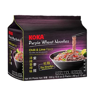 紫麥麵-清辣香檸味(乾麵)(60g*5包/袋)