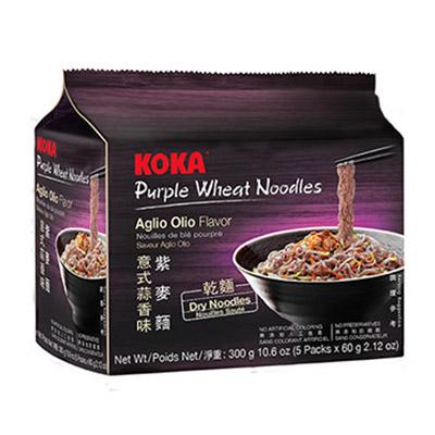 紫麥麵-義式蒜香味(乾麵)(60g*5包/袋)