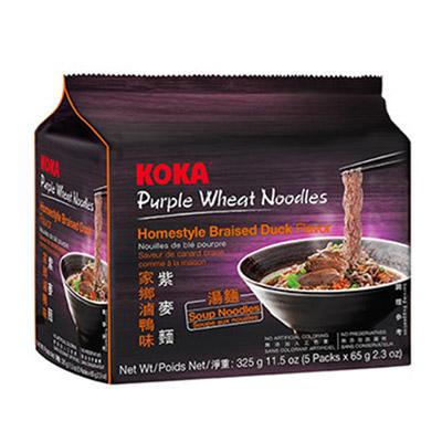 紫麥麵-家鄉滷鴨味(65g*5包/袋)