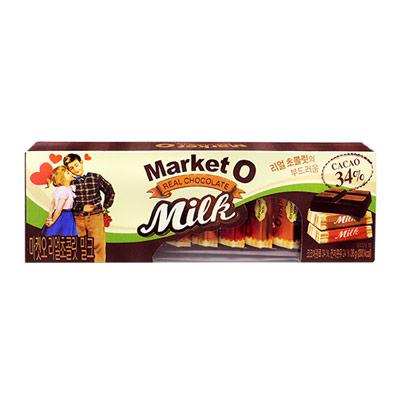 Market O 經典牛奶巧克力(36g/盒)