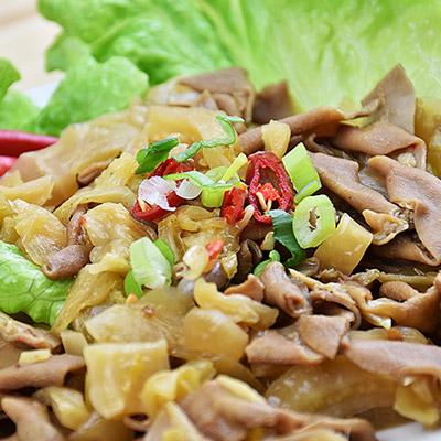 精緻酸菜鴨腸(200g±10%/包)