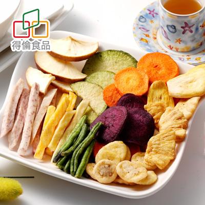 綜合蔬果脆片(全素)(180g/包)