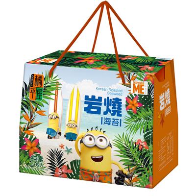 岩烧海苔礼盒-神偷奶爸(纯素)(12包/盒)