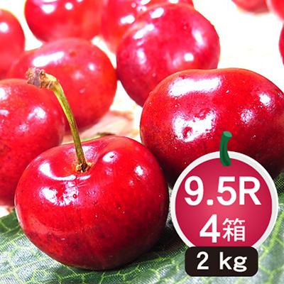 季節限定智利櫻桃2公斤(XJ/9.5R)*4箱