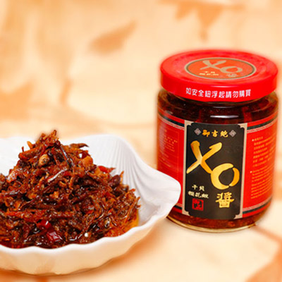 吻仔魚櫻花蝦干貝XO醬(微辣)(220g/罐)
