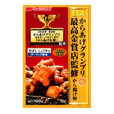 最高金賞炸雞粉-醬油香蒜風味(100g/包)