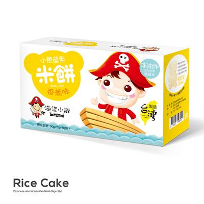 香蕉味小熊造型米饼(50g/盒)